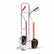 Hliníkový rudl, 180 kg, pneumatická kola