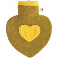 Termofor Hugo Frosch srdce s pleteným obalem - grep