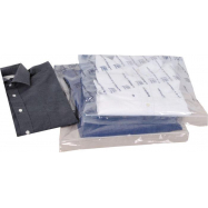 Sada 8 ks průhledných přepravních sáčků se zipem na trička a košile Compactor - 30 x 45 cm