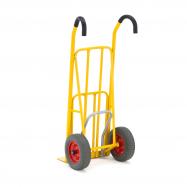 Rudl s naklápěcím pedálem, 250 kg, pneumatická kola