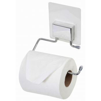 Samolepicí držák toaletního papíru Compactor Bestlock Magic systém bez vrtání, chrom