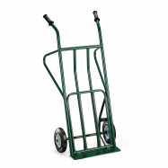 Rudl, 250 kg, plná gumová kola, zelený