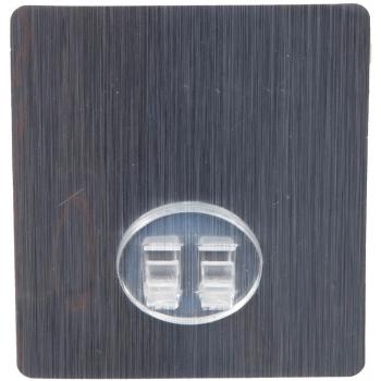 Náhradní samolepicí podložka Compactor Bestlock Magic BATH systém bez vrtání, Satin Al