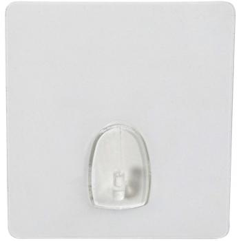 Samolepicí háček Compactor Bestlock Magic systém bez vrtání, transparentní