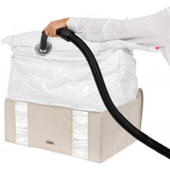 Compactor Life 2.0. vakuový úložný box s pouzdrem - XXL 210 litrů, 65 x 50 x 27 cm