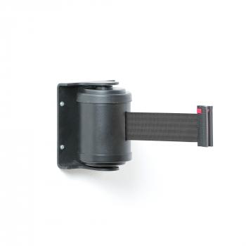 Zahrazovací pás, 180°, 4500 mm, černá, černý pás
