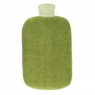 Termofor Hugo Frosch Kiwi - Eco Classic Comfort s obalem z BIO bavlny na zip - zelený