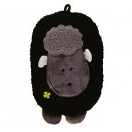 Dětský termofor Hugo Frosch Eco Junior Comfort s motivem ovečky - černá
