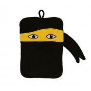 Dětský termofor Hugo Frosch Classic MINI s motivem ninja - velurový