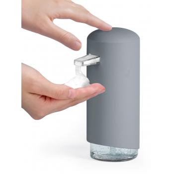 Compactor Clever dávkovač mýdlové pěny, ABS + odolný PETG plast - šedý, 360 ml