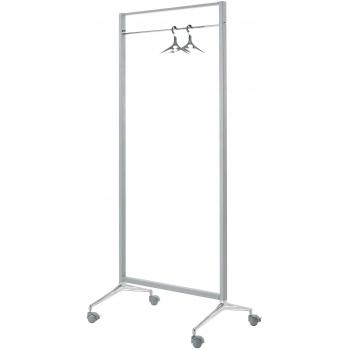 Pojízdný stojan na oblečení Caimi Brevetti Archistand 86 cm, šedý