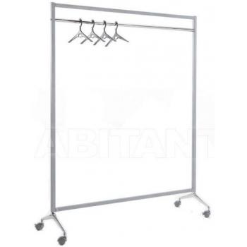 Pojízdný stojan na oblečení Caimi Brevetti Archistand 146 cm, šedý