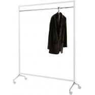 Pojízdný stojan na oblečení Caimi Brevetti Archistand 146 cm, bílý