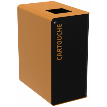 Koš na tříděný odpad - cartridge, Rossignol Cubatri, 55965, 65 L, uzamykatelný, hnědý