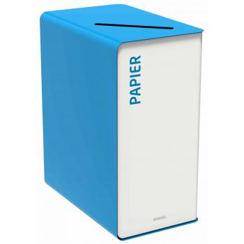 Koš na tříděný odpad - papír, Rossignol Cubatri, 55414, 90 L, modrý