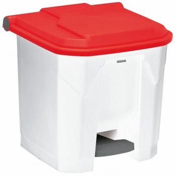 Koš na tříděný odpad pro HACCP - elektro, Rossignol Utilo 54023, 30 L, červený plast