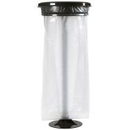 Venkovní stojan pro pytel na odpad Rossignol Collecmur Essentiel 56846 110 L, hnědé víko
