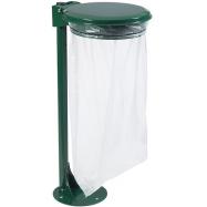 Venkovní stojan pro pytel na odpad Rossignol Collecmur Extreme 57644, 110 L, zelené víko