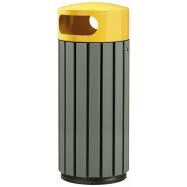 Venkovní odpadkový koš Rossignol Zeno Etik 57935, 60 L, žlutý