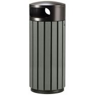 Venkovní odpadkový koš Rossignol Zeno Etik 57933, 60 L, černý