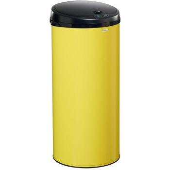 Bezdotykový odpadkový koš Rossignol Sensitive Plus 93568, 45 L, žlutý, RAL 1016