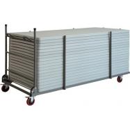 Transportní skládací vozík XXLtrolley