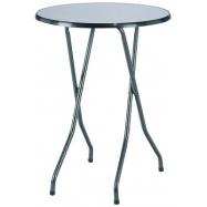Skládací koktejlový stůl FAVOURITE s deskou Ø 85 cm