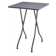 Skládací koktejlový stůl FAVOURITE s deskou 70x70cm