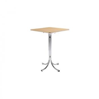 Bistro skládací stůl KLIK KLAK HIGH s deskou 80 x 80 cm