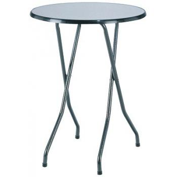 Skládací koktejlový stůl FAVOURITE s deskou Ø 80 cm