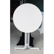 Skládací koktejlový stůl Prato s deskou Ø 70 cm