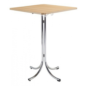 Bistro skládací stůl KLIK KLAK HIGH s deskou 70 x 70 cm