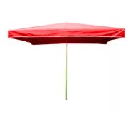 Prodejní slunečník 3x2m červený 8kg
