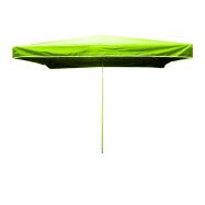 Prodejní slunečník 3x2m světle zelený 15kg
