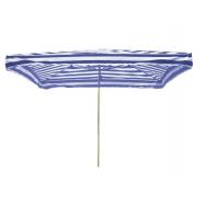 Prodejní slunečník 3x2m modrobílý 15kg
