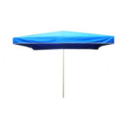 Prodejní slunečník 3x2m modrý 10kg