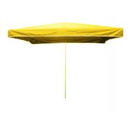 Prodejní slunečník 3x2m žlutý 15kg