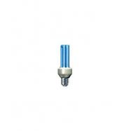 Úsporná žárovka Slide 15W e27 modrá