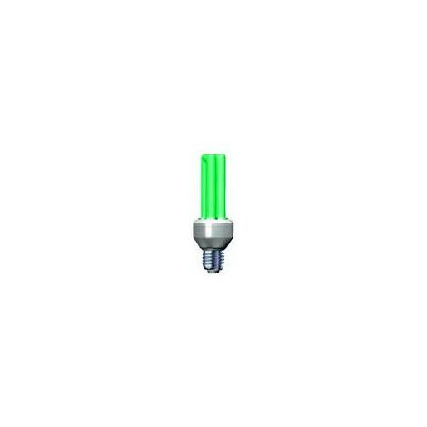 Úsporná žárovka Slide 15W e27 zelená