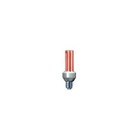 Úsporná žárovka Slide 15W e27 červená