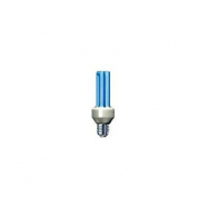 Úsporná žárovka Slide 25W e27 modrá