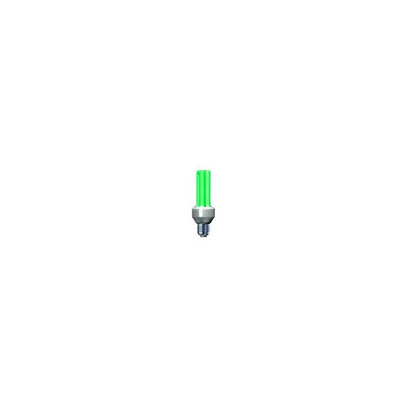 Úsporná žárovka Slide 25W e27 zelená