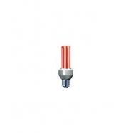 Úsporná žárovka Slide 25W e27 červená