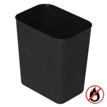 Bezpečnostní odpadkový koš, plast, béžový, 14l