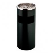 Stojanový koš s popelníkem GPX-12B, kulatý, černý