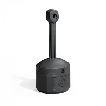Venkovní stojanový popelník Henry, výška 980 mm, černý