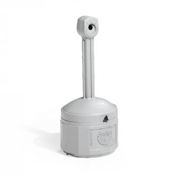 Venkovní stojanový popelník Henry, výška 980 mm, šedý