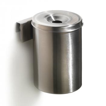 Nástěnný popelník Jack, výška 150 mm, nerez