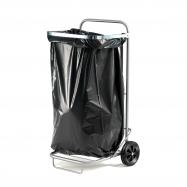 Multifunkční vozík, 125 l, stříbrný