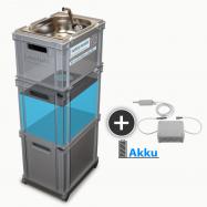 AKU Baterie, mobilní zásobování vodou